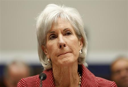 U.S. Department of Health & Human Services (HHS) Secretary Kathleen Sebelius testifies before a House Education and the Workforce Committee hearing on Capitol Hill in Washington June 4, 2013. REUTERS/Jim Bourg
