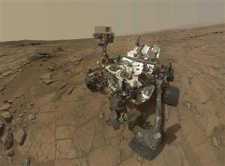 This self-portrait of NASA's Mars Curiosity rover is shown in this NASA handout composite image released May 30, 2013. The NASA rover Curiosity survived its daredevil landing on Mars one year ago Tuesday and went on to discover that the planet most like Earth in the solar system could indeed have supported microbial life, the primary goal of the mission. REUTERS/NASA/Handout via Reuters