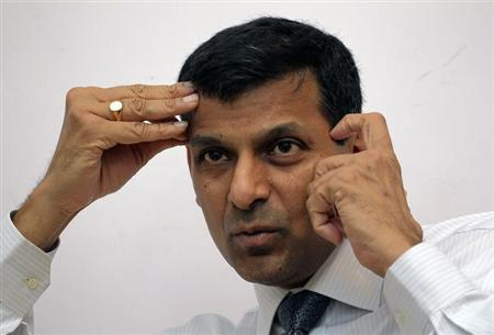 Raghuram Rajan speaks during an interview with Reuters in New Delhi March 11, 2013. To match Interview INDIA-ECONOMY/RAJAN REUTERS/B Mathur/Files