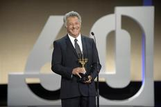 U.S. actor Dustin Hoffman reacts after being presented with a Donostia Award for lifetime achievement at the Kursaal Centre on the final night of the 60th San Sebastian Film Festival September 29, 2012. REUTERS/Vincent West