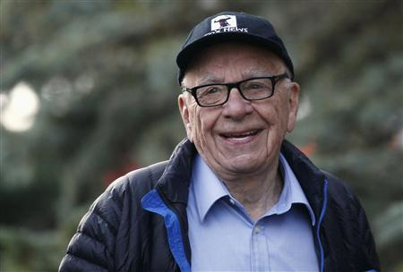 Rupert Murdoch, News Corp. and 21st Century Fox CEO, arrives at the annual Allen and Co. conference at the Sun Valley, Idaho Resort in this July 12, 2013 file photo. REUTERS/Rick Wilking