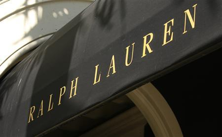 The Ralph Lauren logo is seen on their boutique on Rodeo Drive in Beverly Hills, California in this file photo taken August 5, 2008. REUTERS/Fred Prouser/Files