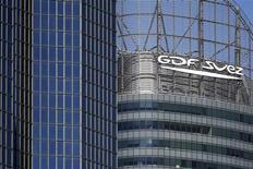 GDF Suez acquiert au Royaume-Uni la société Balfour Beatty Workplace, filiale du groupe d'infrastructures Balfour Beatty, indiquent Les Echos dans leur édition de vendredi. /Photo prise le 1er août 2013/REUTERS/Benoît Tessier