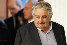 O presidente do Uruguai, José Mujica, chega à cúpula da Unasul em Lima, no Peru, no ano passado. 30/11/2012 REUTERS/Enrique Castro-Mendivil