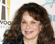 Actress Karen Black poses at the Hollywood Awards gala held by the Hollywood Film Festival in Beverly Hills, California in this October 22, 2007, file photo. REUTERS/Fred Prouser/Files
