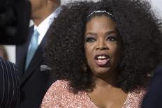 Apresentadora Oprah Winfrey fotografada na estreia do filme 'O Mordomo', do diretor Lee Daniel, no teatro Ziegfeld, em Nova York. A proprietária de uma loja luxuosa em Zurique negou que racismo estivesse envolvido quando a apresentadora de TV norte-americana Oprah Winfrey foi desencorajada de comprar uma bolsa de couro de crocodilo de 35.000 francos suíços (38.100 dólares). 5/08/2013. REUTERS/Andrew Kelly