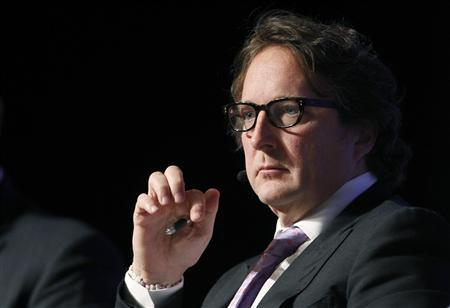 Philip Falcone, chief executive officer and chief investment officer for Harbinger Capital Partners, participates in a panel discussion during the Skybridge Alternatives (SALT) Conference in Las Vegas, Nevada May, 9, 2012. REUTERS/Steve Marcus