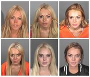 Compilação de fotos da atriz norte-americana Lindsay Lohan divulgadas por órgãos policiais dos EUA durante os anos. Apesar do retorno às telas com novo filme de suspense, pairam dúvidas sobre próximos trabalhos da atriz. REUTERS/Handout/Files