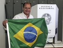 IMAGEN DE ARCHIVO: El gobernador del estado de Sao Paulo, Geraldo Alckmin. REUTERS/Caetano Barreira (BRASIL)