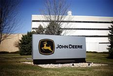 The headquarters to John Deere manufacturing is seen in Moline, Illinois in this file photo from March 30, 2011. REUTERS/Eric Thayer/Files