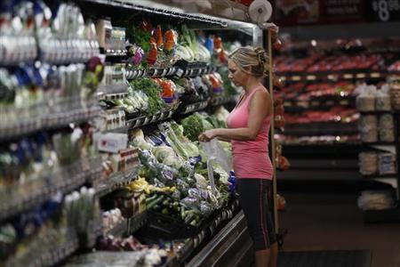 A customer shops at a Walmart Supercenter in Rogers, Arkansas June 6, 2013. REUTERS/Rick Wilking