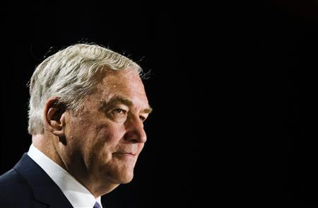 Former media mogul Conrad Black arrives at a business luncheon where he will be making a speech in Toronto, June 22, 2012. REUTERS/Mark Blinch