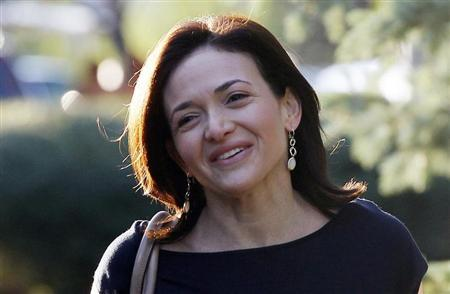 Facebook COO Sheryl Sandberg arrives for the first session of the annual Allen and Co. conference at the Sun Valley, Idaho Resort July 10, 2013. REUTERS/Rick Wilking