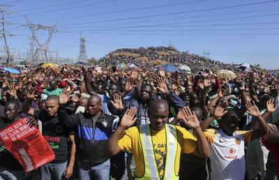 South Africa's miner tragedy