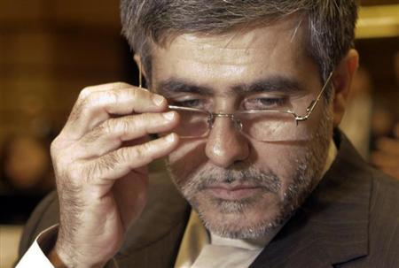 Iran's Head of Atomic Energy Organization Fereydoun Abbasi-Davani attends the Ministerial Conference on Nuclear Safety in Vienna in Vienna June 20, 2011. REUTERS/Herwig Prammer