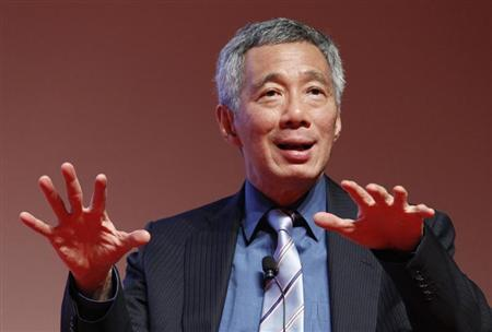 Singapore's Prime Minister Lee Hsien Loong speaks at the Development Bank of Singapore (DBS) Asia Leadership dialogue at the DBS Asian Insights conference in Singapore July 5, 2013. REUTERS/Edgar Su