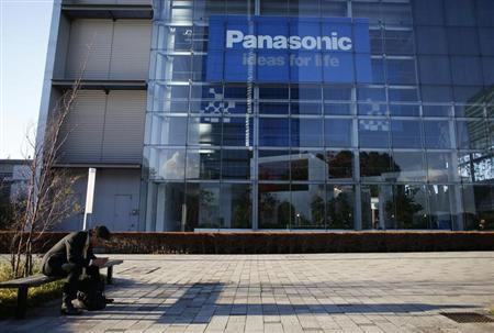 A man sits on a bench in front of Panasonic Corp's showroom in Tokyo November 14, 2012. REUTERS/Toru Hanai