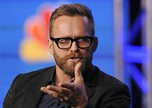 "Trainer Bob Harper takes part in a panel discussion of NBC Universal's show ""The Biggest Loser"" during the 2013 Winter Press Tour for the Television Critics Association in Pasadena, California January 6, 2013. REUTERS/Gus Ruelas"
