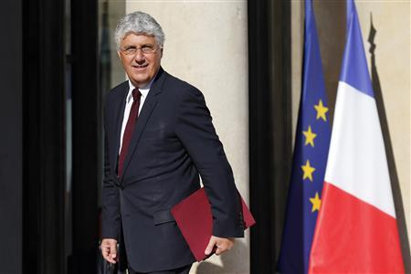 French Ecology and Energy Minister Philippe Martin arrives at the Elysee Palace to attend the government seminar, ''France in 2025'' as ministers end their summer holiday break, in Paris August 19, 2013. REUTERS/Benoit Tessier