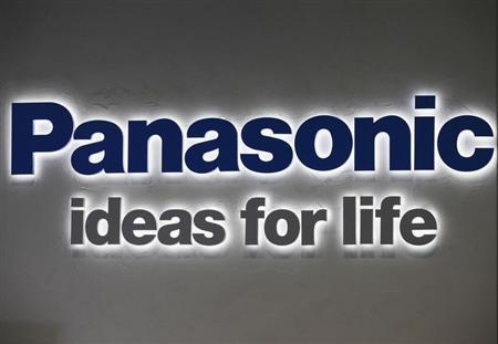 A logo of Panasonic Corp is pictured at its showroom in Tokyo November 1,2012. REUTERS/Yuriko Nakao
