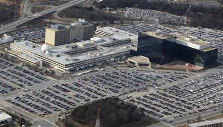 A view from helicopter of the National Security Agency at Ft. Meade, Maryland, January 29, 2010. REUTERS/Larry Downing