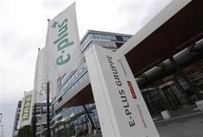 Sede da operadora de celulares alemã E-Plus, em Duesseldorf, Alemanha, 24 de julho de 2013. A espanhola Telefónica melhorou sua oferta pela E-Plus, unidade alemã da KPN, e obteve o apoio do maior acionista do grupo holandês, a América Móvil. 24/07/2013 REUTERS/Wolfgang Rattay
