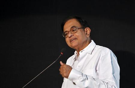 Finance Minister Palaniappan Chidambaram speaks at the Indian Private Equity and Venture Capital Association (IVCA) conclave in New Delhi July 16, 2013. REUTERS/Anindito Mukherjee/Files