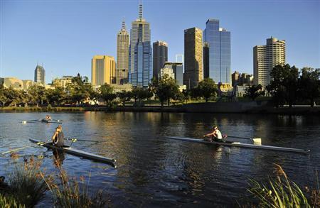 8月28日、英誌エコノミストの調査部門エコノミスト・インテリジェンス・ユニットがまとめた「世界で最も住みやすい都市」のランキングで、オーストラリアのメルボルンが3年連続で1位となった。メルボルンで昨年1月撮影(2013年 ロイター/oby Melville)