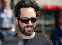 Sergey Brin, co-founder of Google, attends the Allen & Co Media Conference in Sun Valley, Idaho July 12, 2012. Reuters/Jim Urquhart