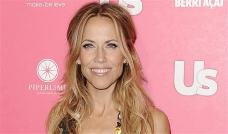 Singer Sheryl Crow arrives at the Us Weekly Hot Hollywood Style Issue Event in Hollywood, California in this April 22, 2010, file photo. REUTERS/Gus Ruelas/Files