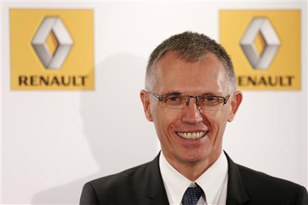 Renault Chief Operating Officer Carlos Tavares poses after the company's First-Half 2013 results presentation in Boulogne-Billancourt, near Paris July 26, 2013. REUTERS/Benoit Tessier