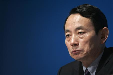 Vice Chairman and President of PetroChina Company Limited Jiang Jiemin attends a news conference in Hong Kong in this March 19, 2007 file photo. REUTERS/Paul Yeung /Files