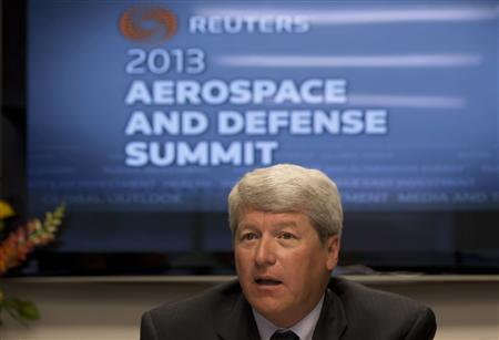 Lockheed Martin Executive Vice President for Mission Systems and Training, Dale Bennett, is pictured at the Reuters Aerospace and Defense Summit in Washington, September 3, 2013. REUTERS/Jason Reed
