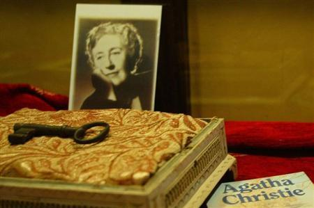 British writer Agatha Christie's belongings are displayed in a special exhibition in Istanbul January 27, 2006. REUTERS/Stringer