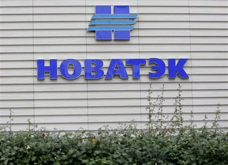 A company logo is seen at the sales office of Novatek, Russia's largest independent natural gas producer, in Moscow September 16, 2012. REUTERS/Maxim Shemetov