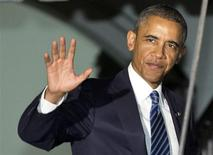 Президент США Барак Обама в Белом доме в Вашингтоне 3 сентября 2013 года. Президент США Барак Обама заручился поддержкой ключевых фигур Конгресса для военных ударов против режима сирийского президента Башара Асада, подозреваемого в использовании химического оружия. REUTERS/Joshua Roberts