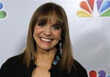 "Actress Valerie Harper arrives for the taping of ""Betty White's 90th Birthday: A Tribute to America's Golden Girl"" in Los Angeles January 8, 2012 file photo. REUTERS/Sam Mircovich"