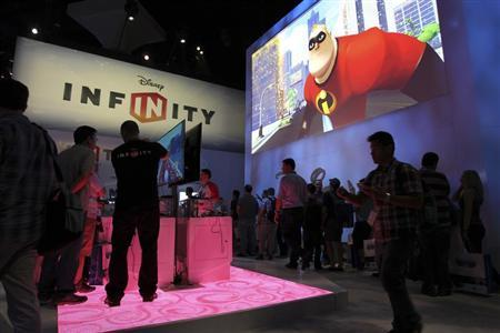 People visit the Disney Infinity exhibit at E3, the Electronic Entertainment Expo, in Los Angeles, California, June 11, 2013. REUTERS/David McNew