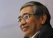 Bank of Japan Governor Haruhiko Kuroda speaks during a news conference in Tokyo September 5, 2013. REUTERS/Yuya Shino