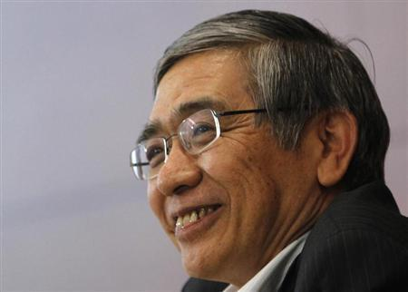 Bank of Japan Governor Haruhiko Kuroda speaks during a news conference in Tokyo September 5, 2013. REUTERS/Yuya Shino