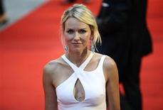 "Cast member Naomi Watts of Australia, who plays the title role, arrives for the world premiere of ""Diana"" at Leicester Square in London, September 5, 2013. REUTERS/Dylan Martinez"