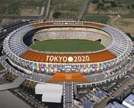 Foto de arquivo de imagem gerada por computador do Tokyo Stadium, uma dos estádios olímpicos propostos pelo Japão para os Jogos Olímpicos de 2020, em Tóquio. Após uma relutância inicial, a China cumprimentou nesta segunda-feira o Japão por ter sido escolhido para sediar o evento esportivo. 08/01/2013 REUTERS/Tokyo 2020 Bid Commitee/Handout