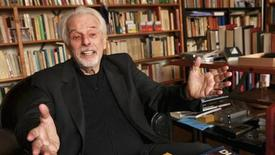 """Director Alejandro Jodorowsky gestures in this undated handout courtesy of Sony Pictures Classics. In 1974, cult director Jodorowsky set out to make a film of the science fiction novel """"Dune,"""" with music by Pink Floyd, a cast including Mick Jagger, and the goal of letting the audience experience an LSD hallucination without drugs. REUTERS/Courtesy of Sony Pictures Classics/David Cavallo/Handout via Reuters"""