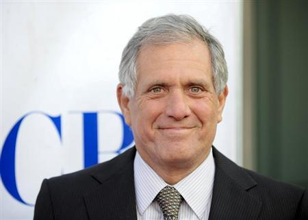 President and CEO, CBS Corporation Leslie Moonves arrives for a special screening of CBS' new comedies during a celebration of ''National TV Dinner Day,'' in Los Angeles, California, September 10, 2013. REUTERS/Gus Ruelas