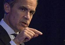 Bank of England governor Mark Carney addresses business leaders in Nottingham, central England August 28, 2013. REUTERS/Nigel Roddis/Pool
