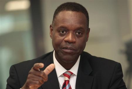 Detroit's Emergency Manager Kevyn Orr talks with Reuters during an interview in Detroit, Michigan August 7, 2013. REUTERS/Rebecca Cook