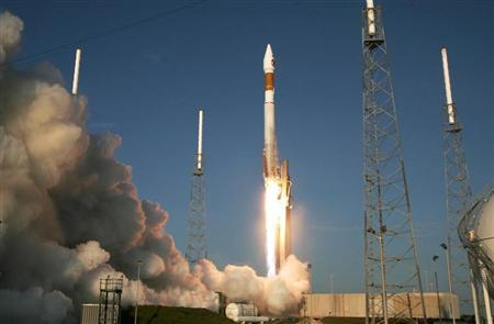 Lockheed Martin Atlas V rocket lifts off from pad 41 with the Mars Reconnaissance Orbiter spacecraft at Cape Canaveral Air Force Station in Cape Canaveral in this file photo. REUTERS/Charles W. Luzier
