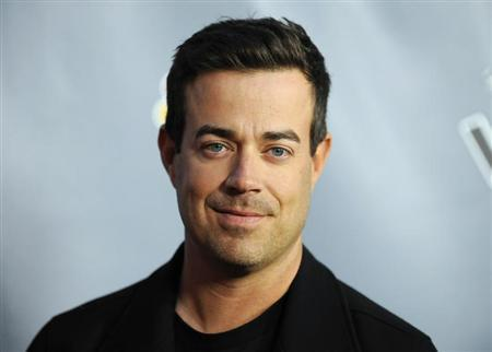 Television personality and ''The Voice'' host Carson Daly arrives at the ''The Voice'' Season 4 premiere screening in Los Angeles, California March 20, 2013. REUTERS/Gus Ruelas