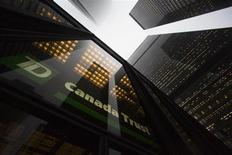 A TD Canada Trust branch is seen in the financial district in Toronto, January 28, 2013. REUTERS/Mark Blinch