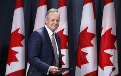 Bank of Canada Governor Stephen Poloz arrives at a news conference upon the release of the Monetary Policy Report in Ottawa July 17, 2013. REUTERS/Chris Wattie